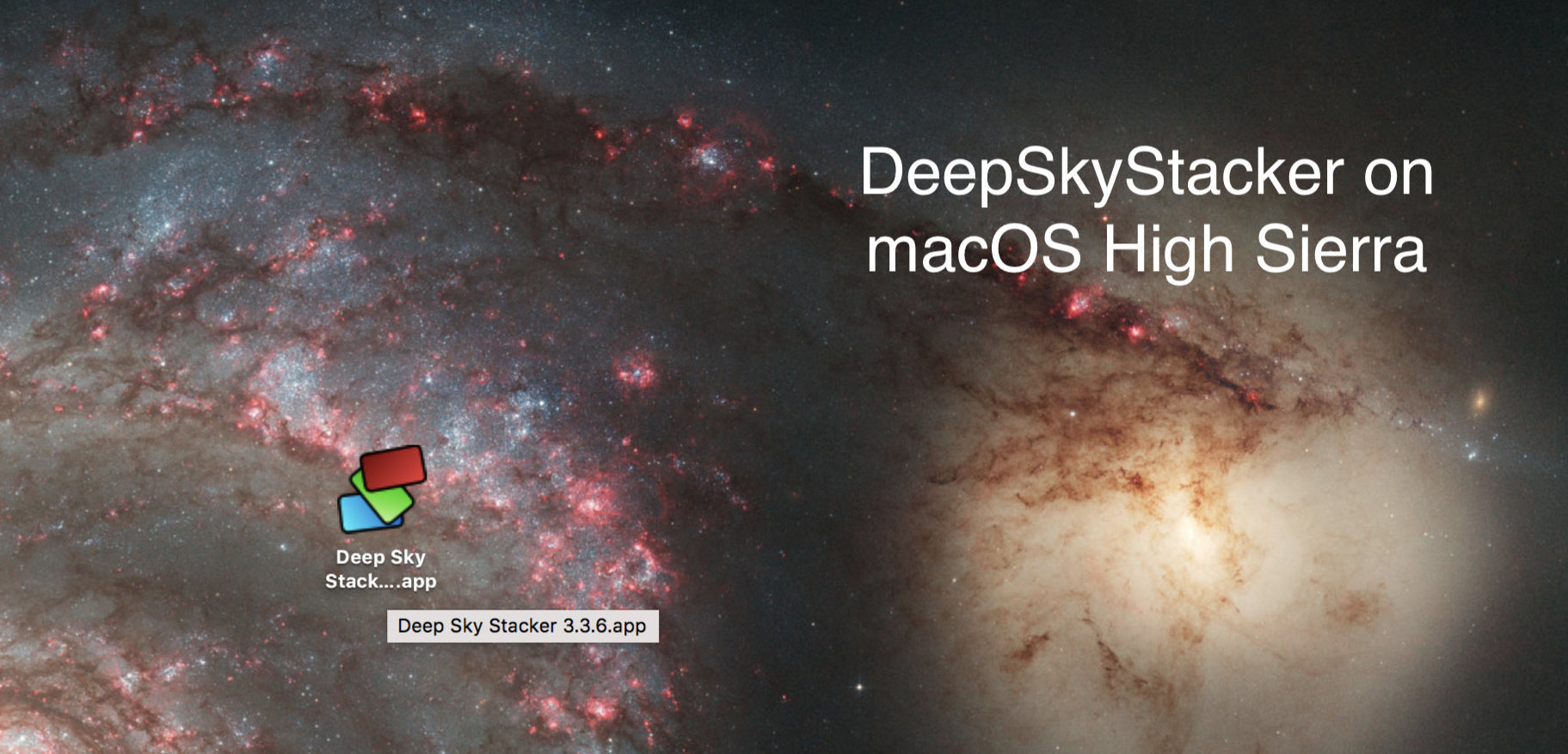 deep sky stacker for mac os x